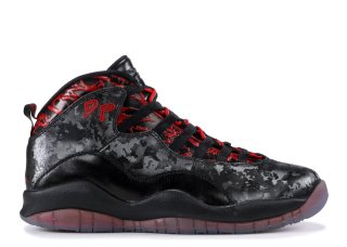 "Air Jordan 10 Retro Db ""Doernbecher"" Noir Rouge (636214-066)"