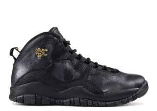 "Air Jordan 10 Retro ""Nyc"" Noir (310806-012)"