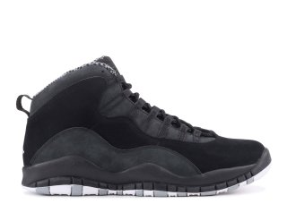 "Air Jordan 10 Retro ""SSarcelleth"" Noir Blanc (310805-003)"