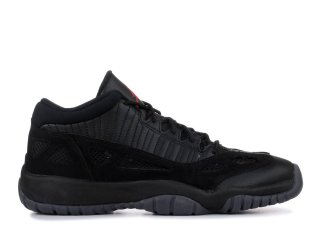 "Air Jordan 11 Retro Low (Gs) ""Referee"" Noir (768873-003)"