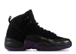 Air Jordan 12 Retro (Gs) Noir (153265-051)