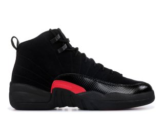 Air Jordan 12 Retro (Gs) Noir Rouge (510815-006)