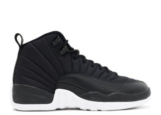 "Air Jordan 12 Retro (Gs) ""Nylon"" Noir (153265-004)"