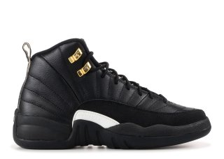 "Air Jordan 12 Retro (Gs) ""The Master"" Noir Or (153265-013)"