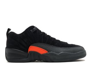 "Air Jordan 12 Retro Low (Gs) ""Max Orange"" Noir Orange (308305-003)"