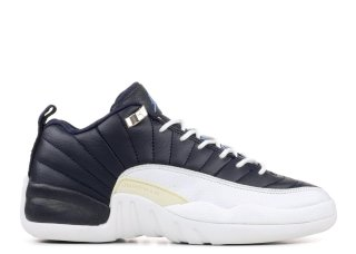Air Jordan 12 Retro Low (Gs) Noir Blanc (308305-441)