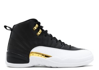 "Air Jordan 12 Retro ""Wings"" Noir Blanc Or (848692-033)"