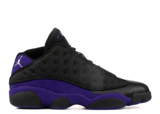 "Air Jordan 13 Low Pe ""Mike Bibby Kings Away"" Noir Pourpre (jbm265-m20)"