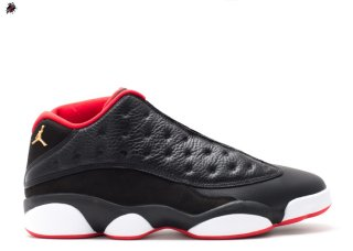 "Air Jordan 13 Retro Low ""Bred"" Noir Rouge (310810-027)"