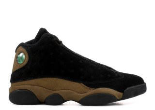 "Air Jordan 13 Retro ""Olive"" Noir Marron (414571-006)"