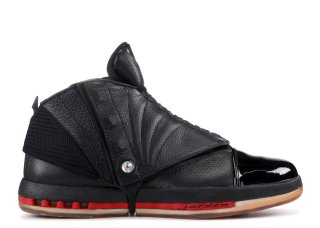 "Air Jordan 16 Retro ""Countdown Pack"" Noir Rouge (322723-061)"