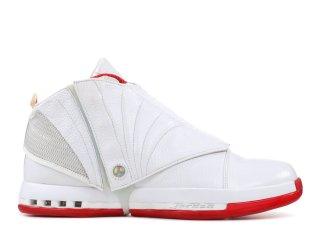 "Air Jordan 16 Retro ""History Of Flight"" Blanc Rouge (mnjdls-559z)"