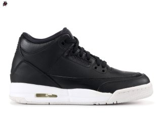 "Air Jordan 3 Retro Bg (Gs) ""Cyber Monday"" Noir (398614-020)"