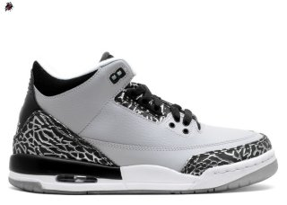 "Air Jordan 3 Retro Bg (Gs) ""Wolf Gris"" Gris (398614-004)"