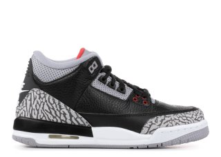 "Air Jordan 3 Retro Og Bg (Gs) ""Black Cement"" Noir Gris (854261-001)"