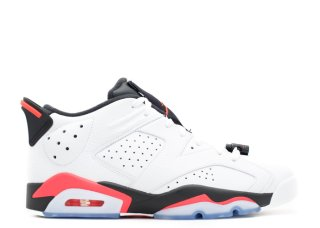 "Air Jordan 6 Retro Low ""Infrared"" Blanc Orange (304401-123)"