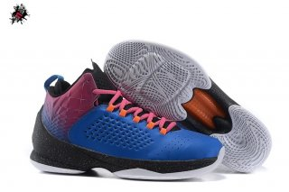 "Jordan Melo M11 ""Red Hook Sunset"" Bleu Rouge"