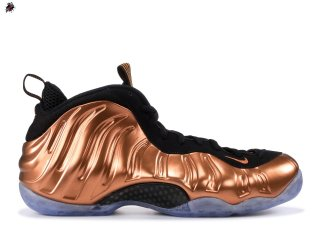 "Nike Air Foamposite One ""Copper"" Noir Or (314996-007)"