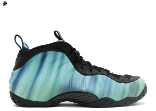 "Nike Air Foamposite One Prm As Qs ""Northern Lights"" Noir Vert Pourpre (840559-001)"