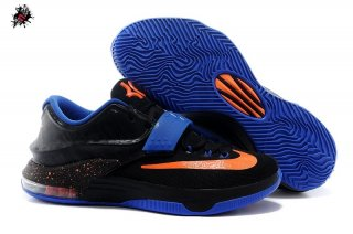 Nike KD VII 7 Noir Bleu Orange
