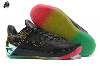 "Nike Kobe A.D. ""Rise And Shine"" Noir Vert Rouge Or"