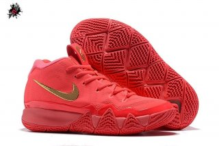 Nike Kyrie Irving IV 4 Rouge Métallique Or