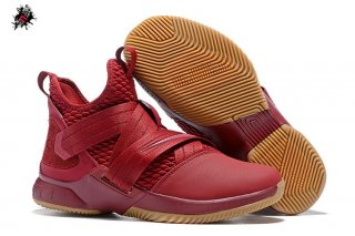 Nike Lebron Soldier XII 12 Rouge Marron