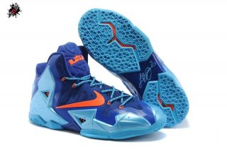 Nike Lebron XI 11 Bleu Orange