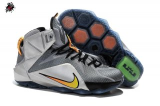 "Nike Lebron XII 12 ""Flight"" Gris"