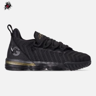 "Nike Lebron XVI 16 ""I'M King"" (Ps) Noir Or (aq2467-007)"