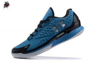 Under Armour Curry 1 Low Bleu Noir