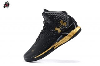 "Under Armour Curry 1 ""Mvp"" Noir Métallique Or"