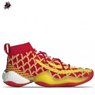"Adidas Crazy Byw Pharrell ""Chinese New Year"" Rouge Jaune (EE8688)"