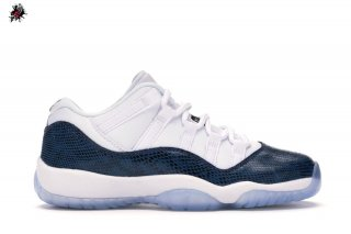 Air Jordan 11 Retro Low (GS) Snake 2019 Marina Militare (CD6847-102)