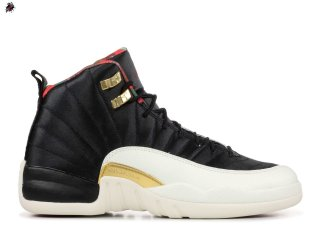 Air Jordan 12 Retro Cny (GS) Chinese New Year Noir (BQ6497-006)