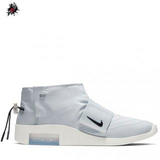 Nike Air Fear Of God Moc Pure Platinum Blanc (AT8086-001)