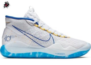 "Nike KD XII 12 Warriors ""Home"" Bianco Bleu (AR4229-100)"