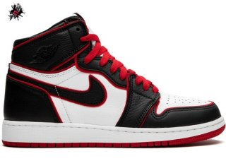 "Air Jordan 1 High Retro (GS) ""Bloodline"" Noir (575441-062)"