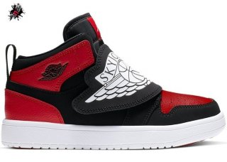 "Air Jordan 1 Sky ""Bred"" (PS) Rouge Noir (BQ7197-001)"