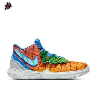 "Nike Kyrie Irving V 5 (GS) ""Spongebob Pineapple House"" Orange (CJ7227-800)"