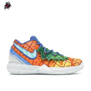 "Nike Kyrie Irving V 5 (PS) ""Spongebob Pineapple House"" Orange (CN4501-800)"