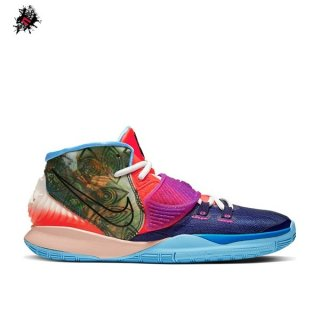 "Nike Kyrie Irving VI 6 Preheat (GS) ""Heal The World"" Marine (CV5574-403)"
