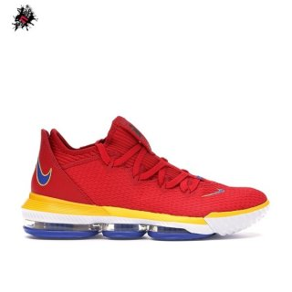 "Nike Lebron XVI 16 Low ""Superbron"" Rouge (CK2168-600)"