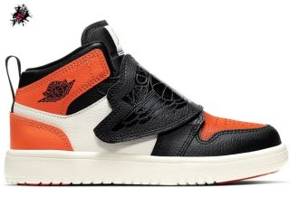 "Sky Air Jordan 1 (PS) ""Shattered Backboard"" Orange Noir (BQ7197-008)"