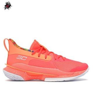 "Under Armour Curry 7 ""Sour Patch Kids"" Orange (3021258-603)"