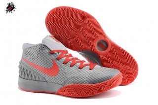 Nike Kyrie Irving 1 Gris Rouge