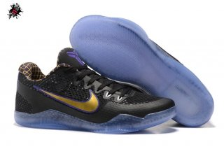 Nike Zoom Kobe 11 Elite Noir Or Pourpre