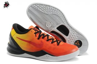 Nike Zoom Kobe 8 Orange Noir
